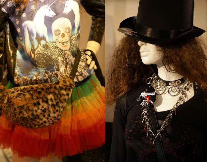 rocker clothing, heavy metal fashion japan