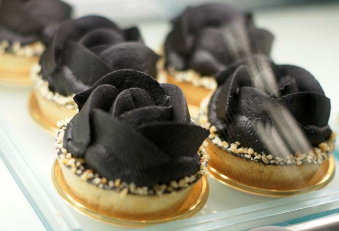 black rose cakes, swallowtail butler cafe