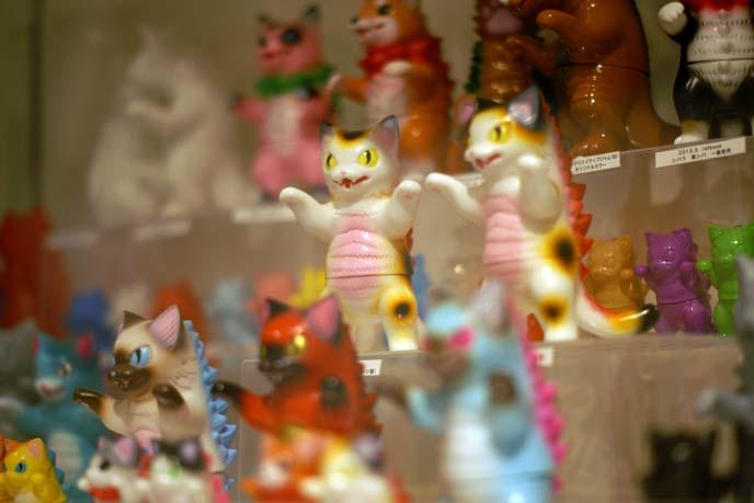 godzilla cats, cute monster toys