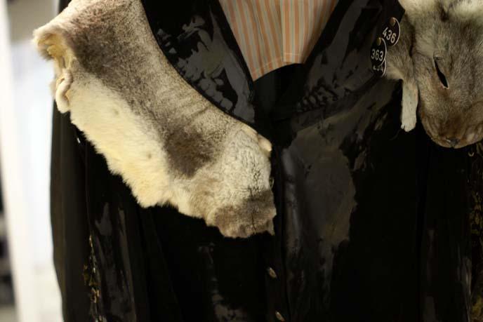 game of thrones fur collar coat