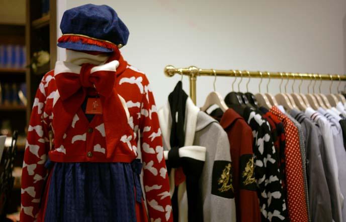 acryl closet, handmade japanese clothes