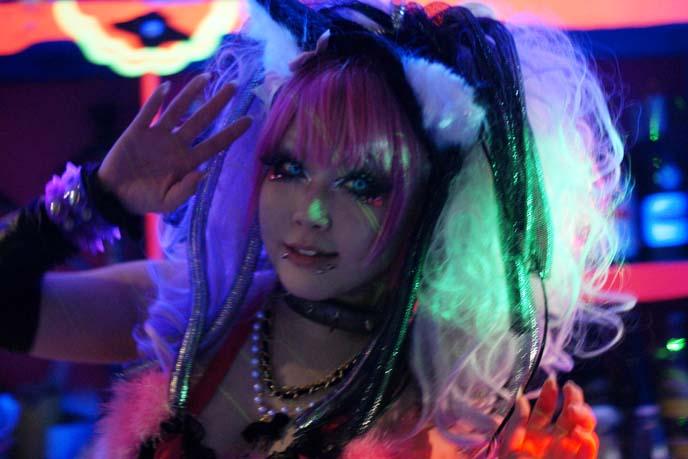 harajuku cyber goth girl