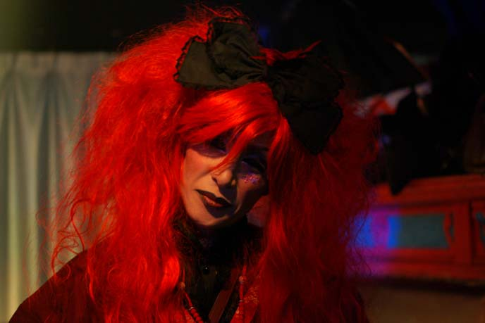 man in red wig, brolita