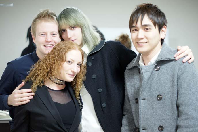 grey green hair color