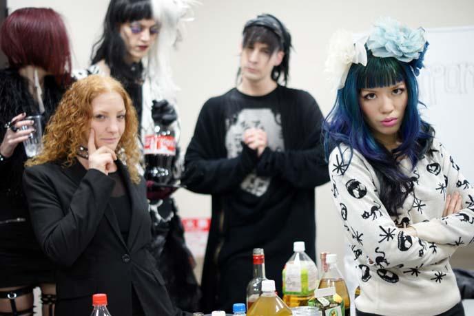 tokyo goth scene