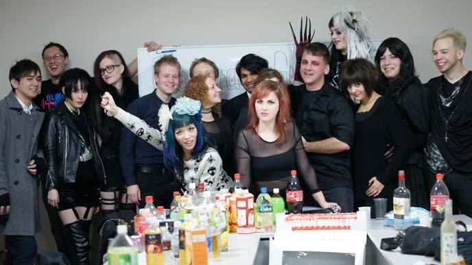 work party, staff photo