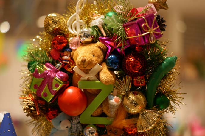 cute bear christmas tree decoration