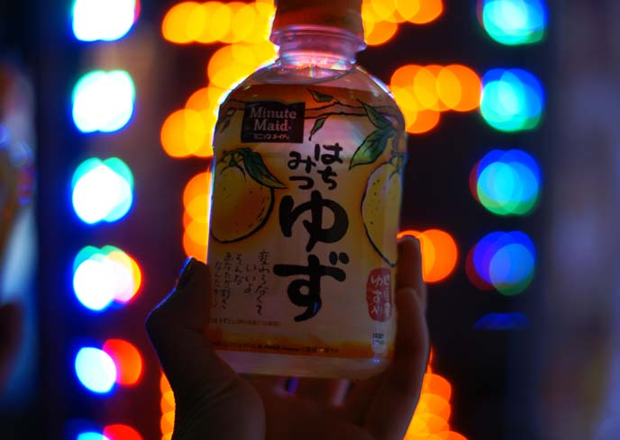 yuzu juice, drink