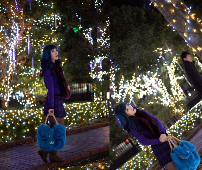 tokyo japan christmas decorations, trees
