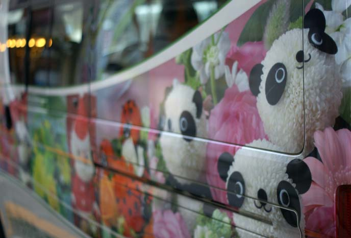panda van, japan car decor