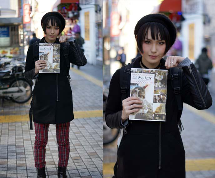 kera model, japanese fashionista