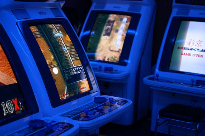 video game arcade games