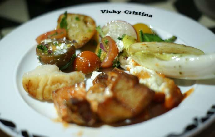 vicky cristina restaurant, woody allen