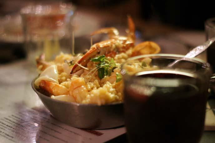 seafood paella, vicky cristina tel aviv