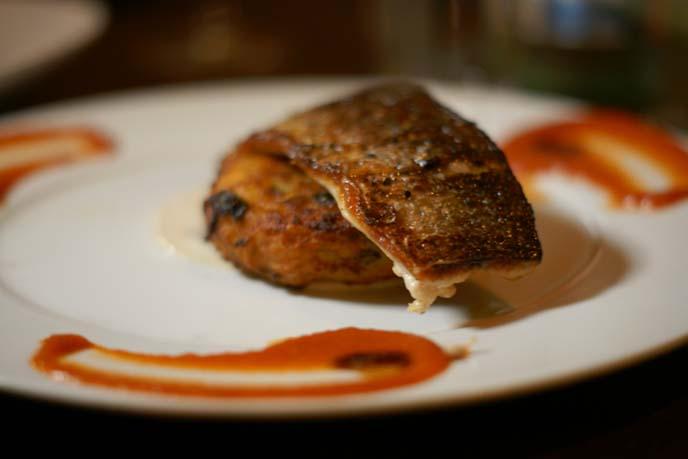 turbot fish dinner, herbert samuel