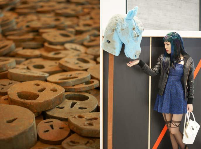 weird modern art, israel museum