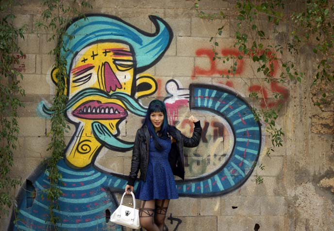 tel aviv cool graffiti art