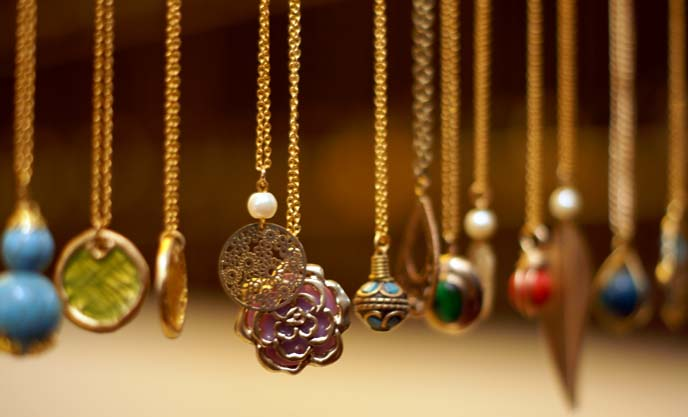 arabian market jewelry, pendants