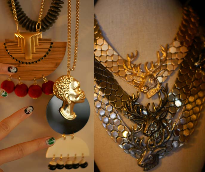 Shelly Dahari jewelry, african necklace