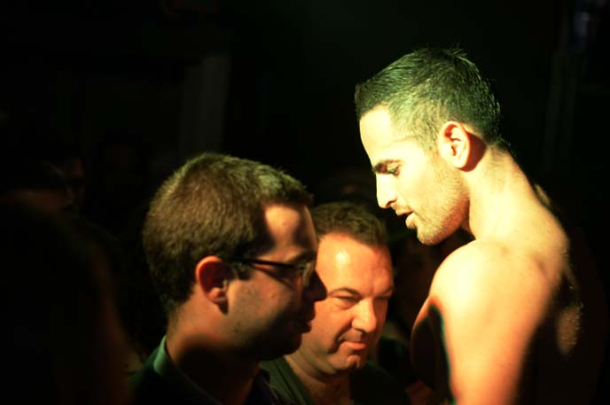 gay men party israel