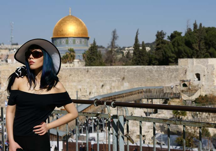 dome of the rock, travel blogger