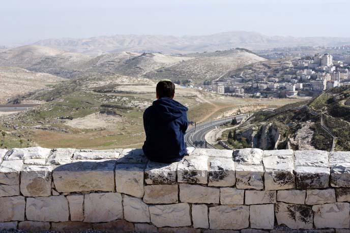 jerusalem landscape, view
