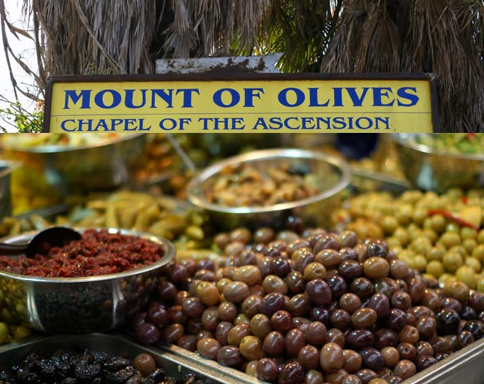 mount of olives, chapel of ascension