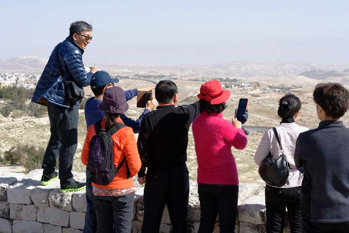 chinese tourists, asian tour group
