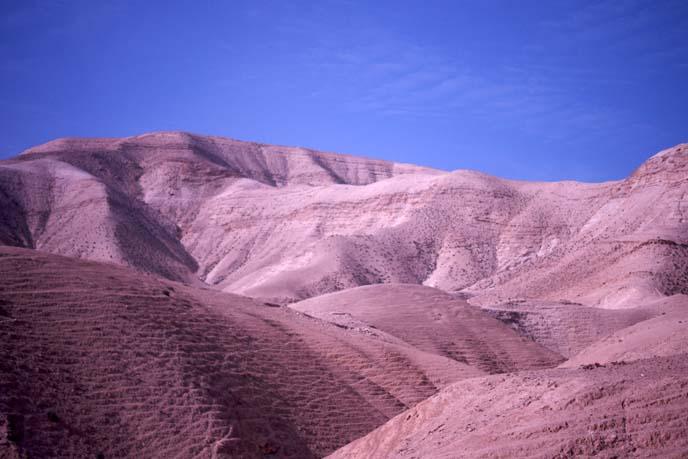 israel desert sand dunes