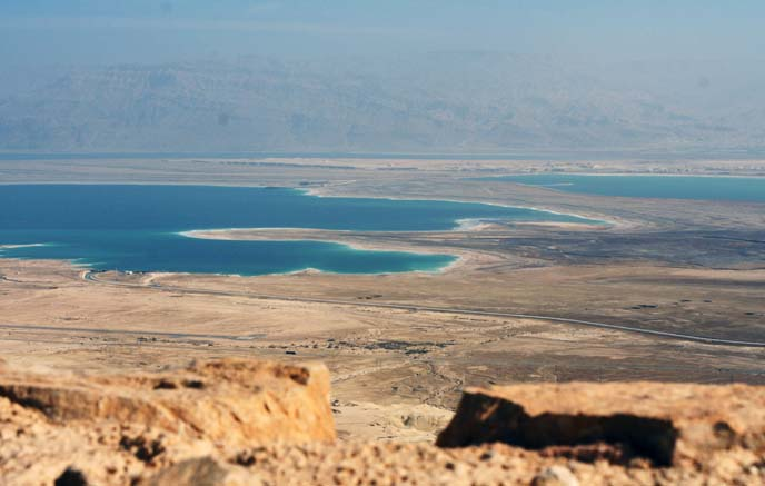 masada view of dead sea