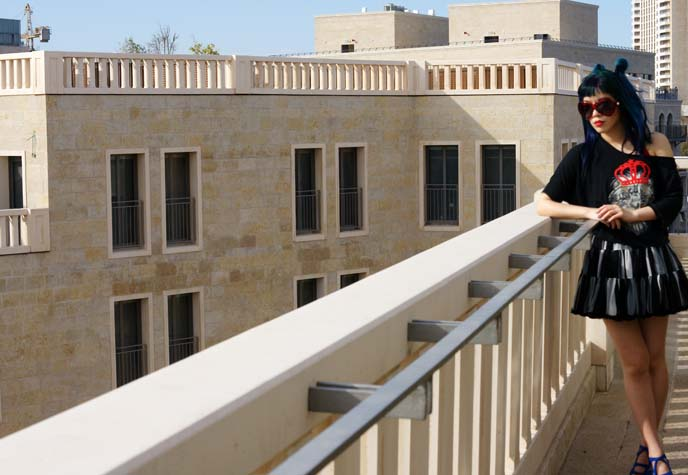 rooftop, luxury jerusalem hotel
