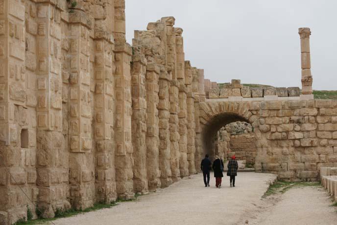 jerash ruins history