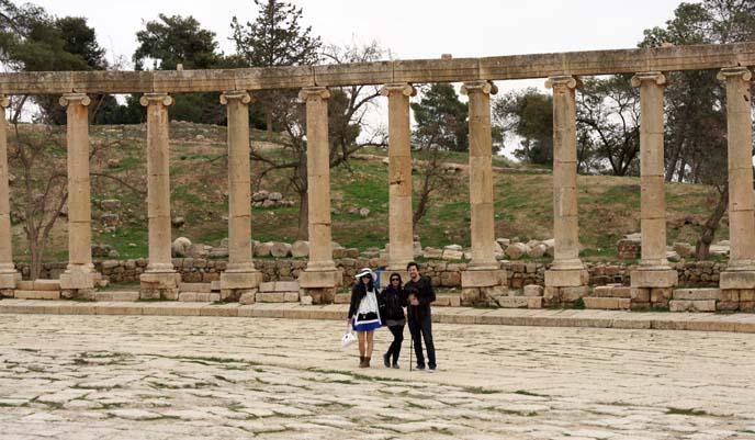 Oval Forum, ancient jerash
