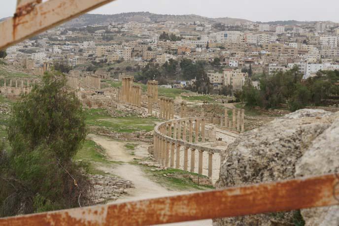 view archaeological site gerasa