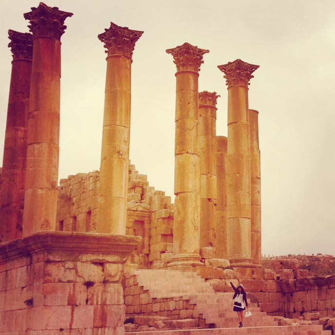 artemis temple, jordan