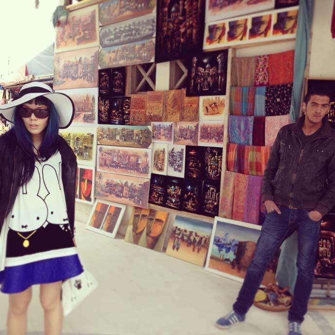 jordan paintings scarves