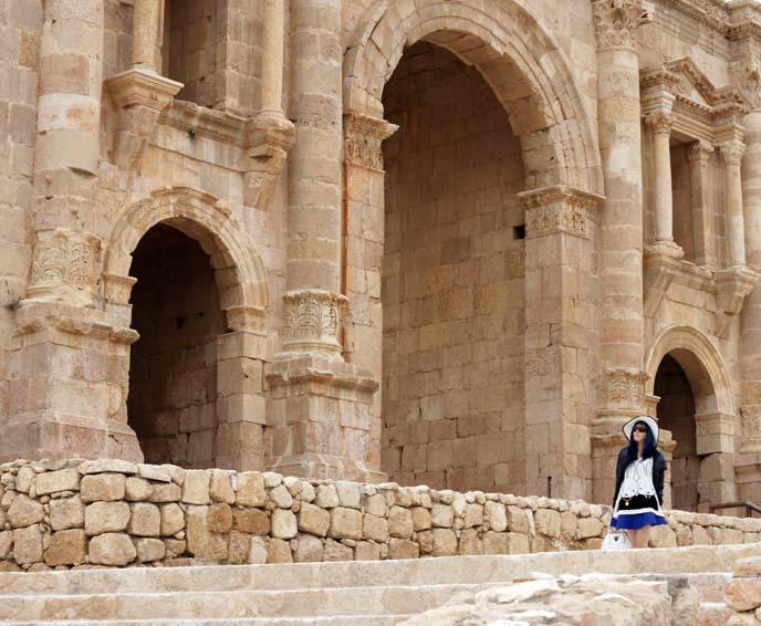 jerash, Arch of Hadrian