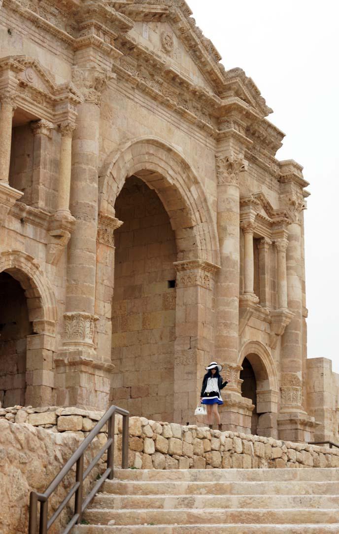greco roman ruins, gerasa city