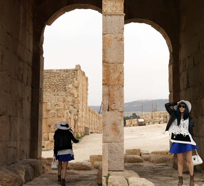 jordan jerash ancient ruins