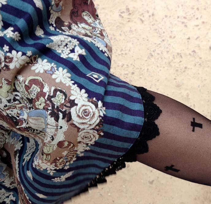alice wonderland lolita skirt