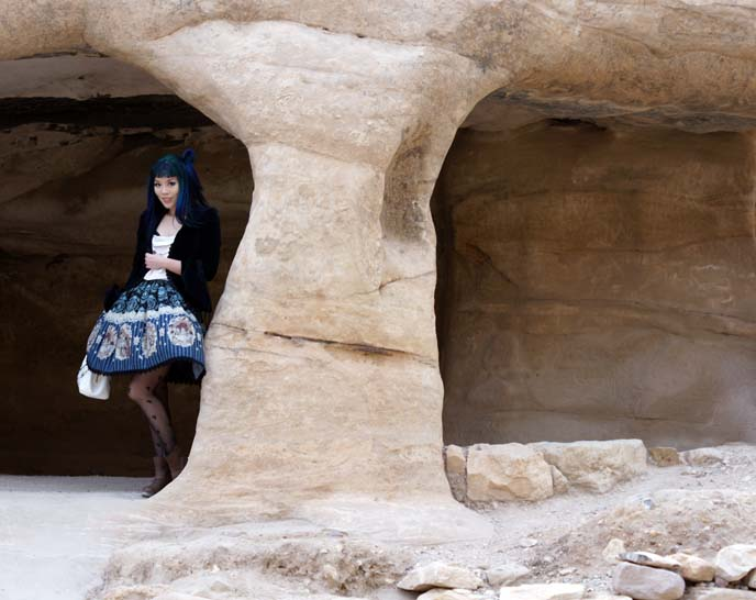 sandstone caves, ancient homes