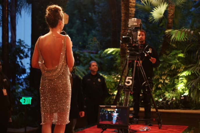 qvc academy awards party