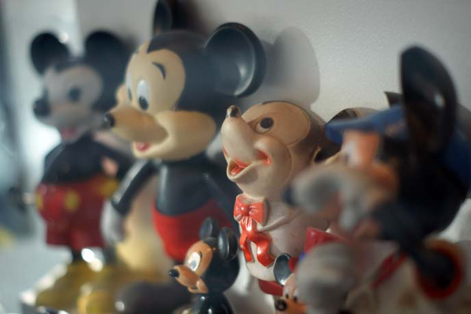 disney retro toys, mickey collection