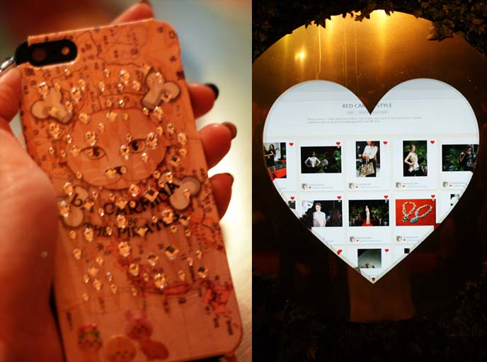 swarovski crystals iphone cover