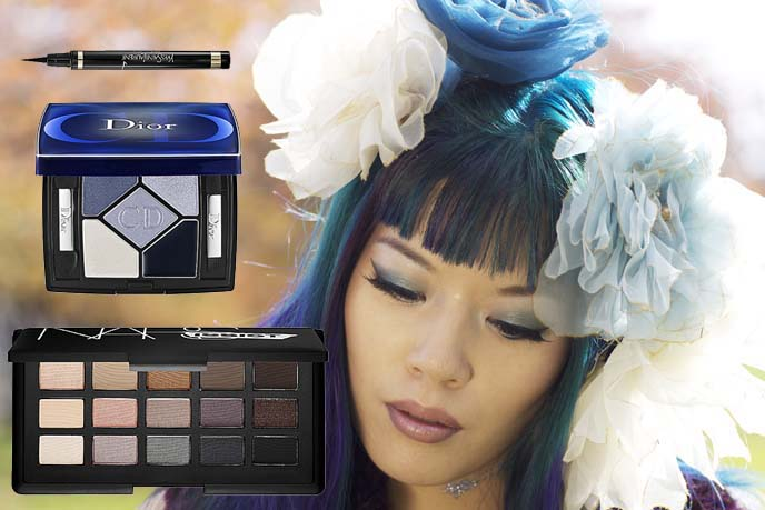 goth eyeshadows, japanese eye liner