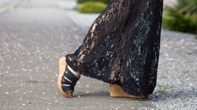 japanese high heel sandals