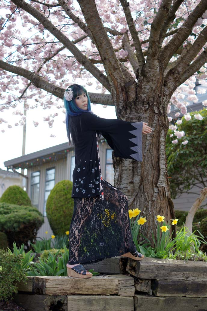 japanese hanami outfit, dress