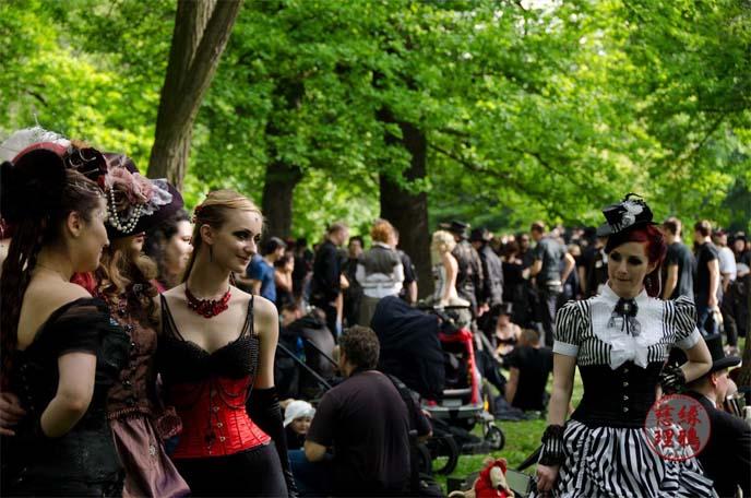 steampunk victorian picnic wgt