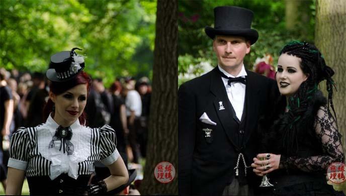 romantic goth clothing, haute gothic