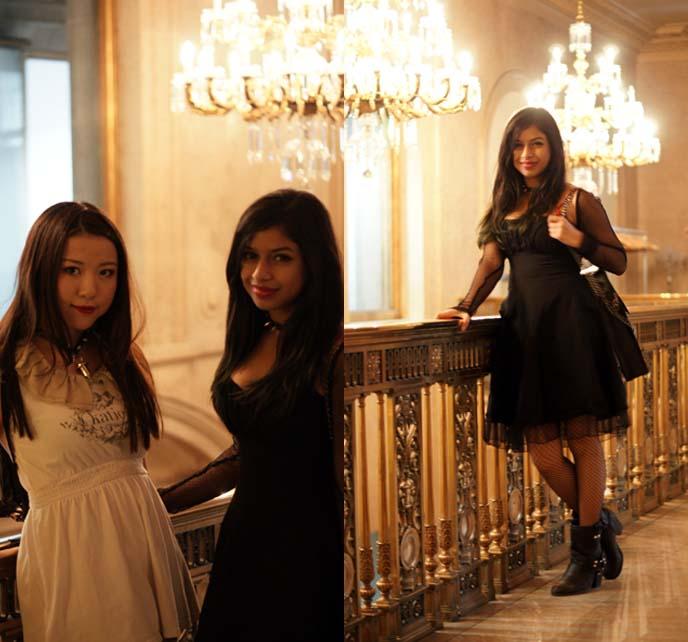 young goth girls, toronto gothic